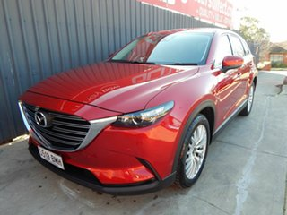 2017 Mazda CX-9 TC Touring SKYACTIV-Drive Red 6 Speed Sports Automatic Wagon