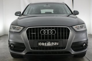 2014 Audi Q3 8U MY14 TDI S Tronic Quattro Grey 7 Speed Sports Automatic Dual Clutch Wagon.
