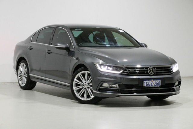 Used Volkswagen Passat 3C MY17 206 TSI R-Line, 2017 Volkswagen Passat 3C MY17 206 TSI R-Line Grey 6 Speed Direct Shift Sedan