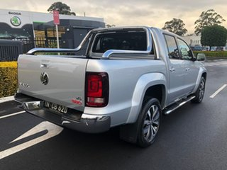 2019 Volkswagen Amarok 2H MY19 TDI580 4MOTION Perm Ultimate Silver 8 Speed Automatic Utility