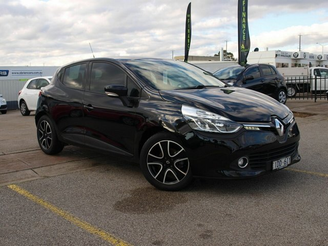 Used Renault Clio IV B98 Expression EDC, 2015 Renault Clio IV B98 Expression EDC Black 6 Speed Sports Automatic Dual Clutch Hatchback