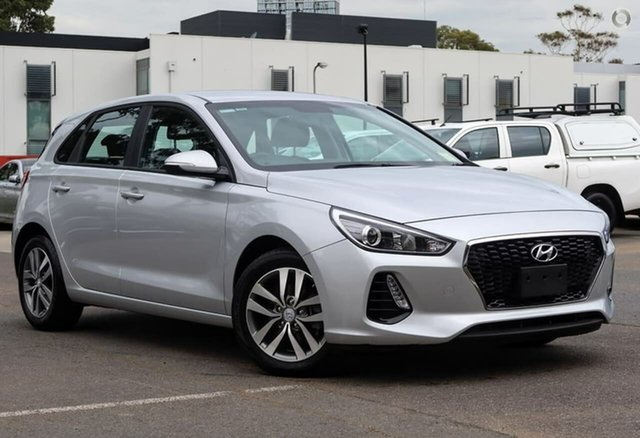 Used Hyundai i30 PD2 MY20 Active, 2019 Hyundai i30 PD2 MY20 Active Silver 6 Speed Sports Automatic Hatchback