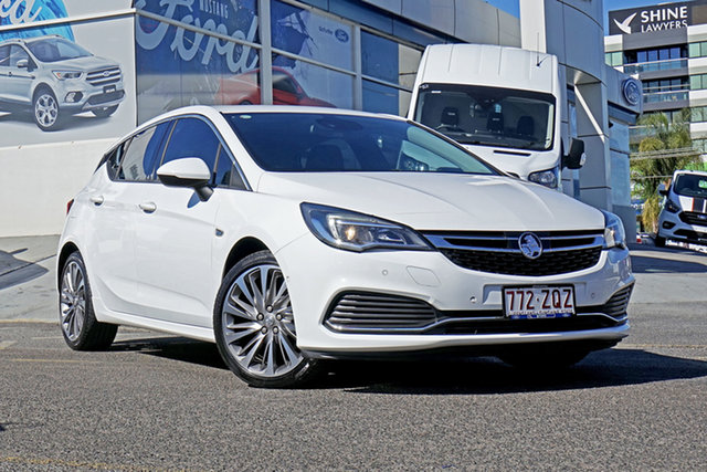 Used Holden Astra BK MY17 RS-V, 2016 Holden Astra BK MY17 RS-V White 6 Speed Sports Automatic Hatchback