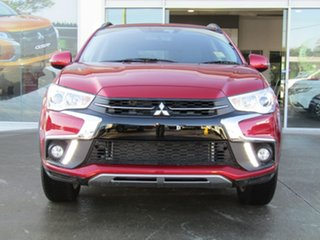 2019 Mitsubishi ASX XC MY19 LS 2WD Red 6 Speed Constant Variable Wagon.
