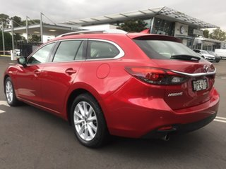 2017 Mazda 6 GL1031 Touring SKYACTIV-Drive Red 6 Speed Sports Automatic Wagon