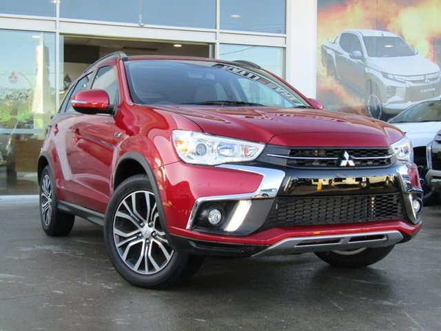 Demo Mitsubishi ASX XC MY19 LS 2WD, 2019 Mitsubishi ASX XC MY19 LS 2WD Red 6 Speed Constant Variable Wagon
