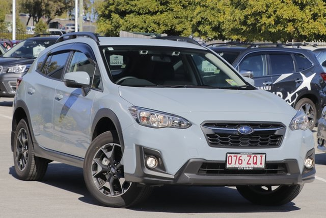 Demo Subaru XV G5X MY20 2.0i-L Lineartronic AWD, 2020 Subaru XV G5X MY20 2.0i-L Lineartronic AWD Cool Grey Khaki 7 Speed Constant Variable Wagon
