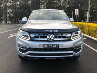 2019 Volkswagen Amarok 2H MY19 TDI580 4MOTION Perm Ultimate Silver 8 Speed Automatic Utility.