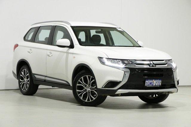 Used Mitsubishi Outlander ZL MY18.5 ES 5 Seat (AWD), 2018 Mitsubishi Outlander ZL MY18.5 ES 5 Seat (AWD) White Continuous Variable Wagon