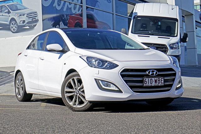 Used Hyundai i30 GD3 Series II MY16 SR Premium, 2015 Hyundai i30 GD3 Series II MY16 SR Premium White 6 Speed Sports Automatic Hatchback