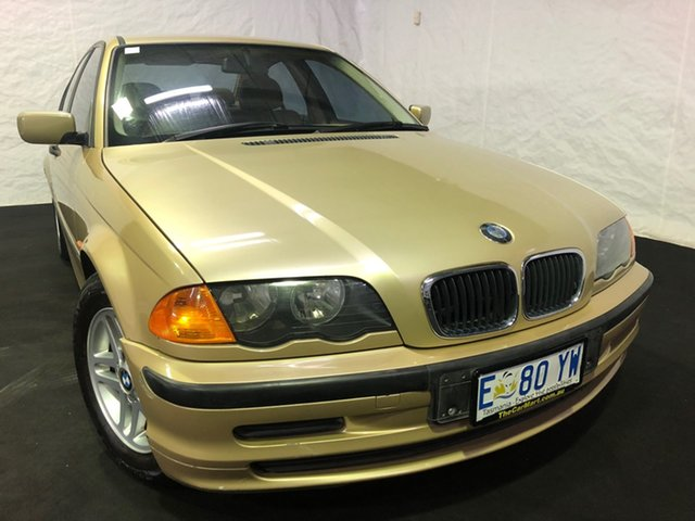Used BMW 3 Series E46 318i Steptronic, 2001 BMW 3 Series E46 318i Steptronic Gold 4 Speed Sports Automatic Sedan