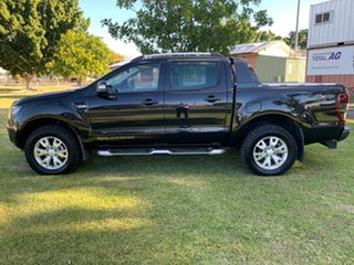 2012 Ford Ranger PX Wildtrak Double Cab Black 6 Speed Sports Automatic Utility