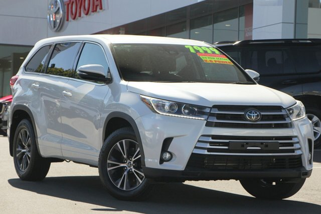 Used Toyota Kluger GSU55R GX AWD, 2018 Toyota Kluger GSU55R GX AWD Pearl White 8 Speed Sports Automatic Wagon
