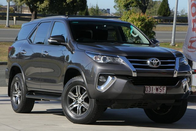 Used Toyota Fortuner GUN156R GXL, 2016 Toyota Fortuner GUN156R GXL Grey 6 Speed Automatic Wagon