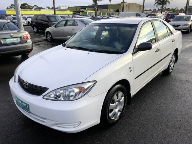 Used Toyota Camry ACV36R Altise, 2002 Toyota Camry ACV36R Altise White 4 Speed Automatic Sedan