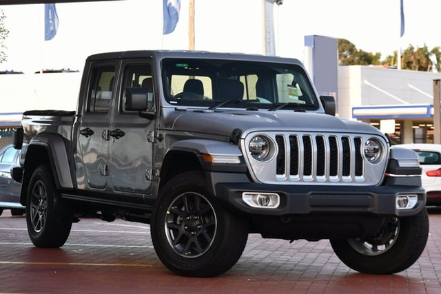 New Jeep Gladiator JT MY20 Overland Pick-up Nunawading, 2020 Jeep Gladiator JT MY20 Overland Pick-up Billet Silver 8 Speed Automatic Utility