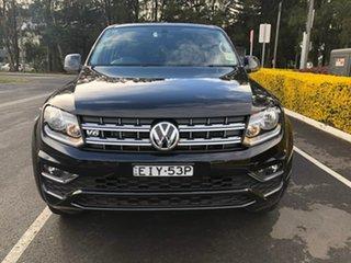2019 Volkswagen Amarok 2H MY20 TDI550 4MOTION Perm Sportline Black 8 Speed Automatic Utility