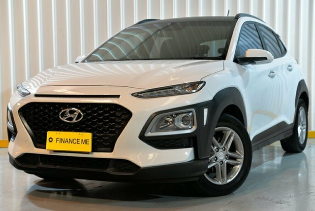 Used Hyundai Kona OS MY18 Active 2WD, 2018 Hyundai Kona OS MY18 Active 2WD White 6 Speed Sports Automatic Wagon