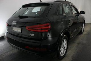 2013 Audi Q3 8U MY14 TFSI S Tronic Quattro Brilliant Black 7 Speed Sports Automatic Dual Clutch
