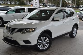 2015 Nissan X-Trail T32 ST X-tronic 2WD White 7 Speed Wagon.