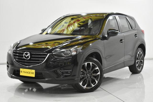 Used Mazda CX-5 KE1022 Grand Touring SKYACTIV-Drive i-ACTIV AWD Brooklyn, 2017 Mazda CX-5 KE1022 Grand Touring SKYACTIV-Drive i-ACTIV AWD Black 6 Speed Sports Automatic Wagon
