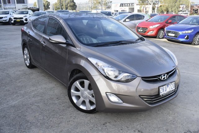 Used Hyundai Elantra MD Premium, 2012 Hyundai Elantra MD Premium Gold 6 Speed Sports Automatic Sedan