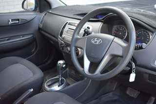 2012 Hyundai i20 PB MY13 Active Black 4 Speed Automatic Hatchback
