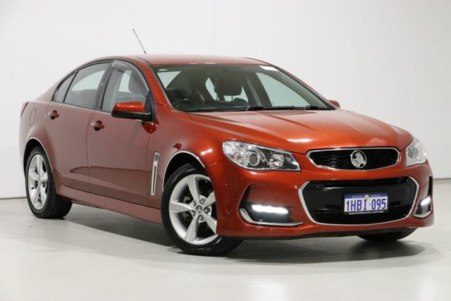 Used Holden Commodore VF II SV6, 2016 Holden Commodore VF II SV6 Red 6 Speed Automatic Sedan