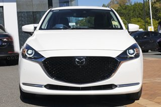 2021 Mazda 2 DJ2HAA G15 SKYACTIV-Drive GT Snowflake White 6 Speed Sports Automatic Hatchback