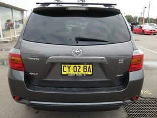 2009 Toyota Kluger GSU45R KX-S AWD Grey 5 Speed Sports Automatic Wagon