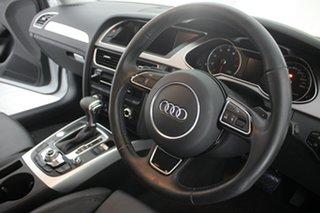 2013 Audi A4 B8 8K MY13 S Tronic Quattro Glacier White 7 Speed Sports Automatic Dual Clutch Sedan