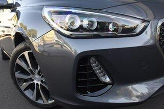 2019 Hyundai i30 PD2 MY20 Premium Iron Grey 6 Speed Sports Automatic Hatchback.