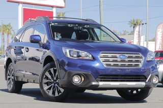 2016 Subaru Outback B6A MY16 2.5i CVT AWD Premium Blue 6 Speed Constant Variable Wagon.