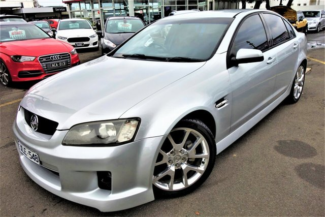 Used Holden Commodore VE MY10 SV6, 2010 Holden Commodore VE MY10 SV6 Silver 6 Speed Manual Sedan