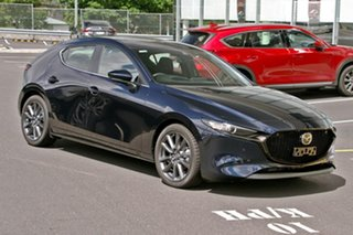 2019 Mazda 3 BP2H7A G20 SKYACTIV-Drive Evolve Deep Crystal Blue 6 Speed Sports Automatic Hatchback.