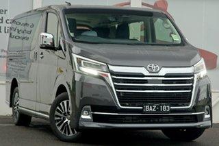 2019 Toyota Granvia GDH303R VX Graphite Grey 6 Speed Sports Automatic Wagon.