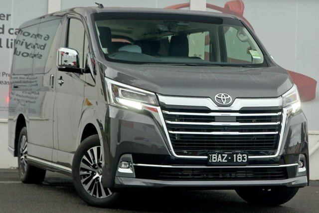 Pre-Owned Toyota Granvia GDH303R VX Ferntree Gully, 2019 Toyota Granvia GDH303R VX Graphite Grey 6 Speed Sports Automatic Wagon