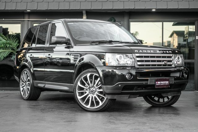 Used Land Rover Range Rover Sport L320 09MY TDV8, 2008 Land Rover Range Rover Sport L320 09MY TDV8 Black 6 Speed Sports Automatic Wagon