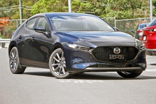Demo Mazda 3 BP2H7A G20 SKYACTIV-Drive Evolve, 2019 Mazda 3 BP2H7A G20 SKYACTIV-Drive Evolve Deep Crystal Blue 6 Speed Sports Automatic Hatchback