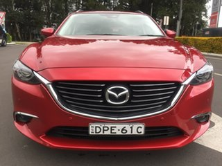 2017 Mazda 6 GL1031 Touring SKYACTIV-Drive Red 6 Speed Sports Automatic Wagon.