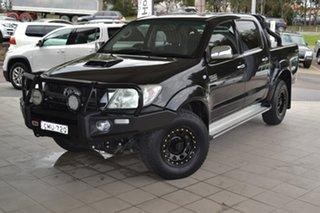 2010 Toyota Hilux KUN26R MY10 SR5 Black 5 Speed Manual Utility.
