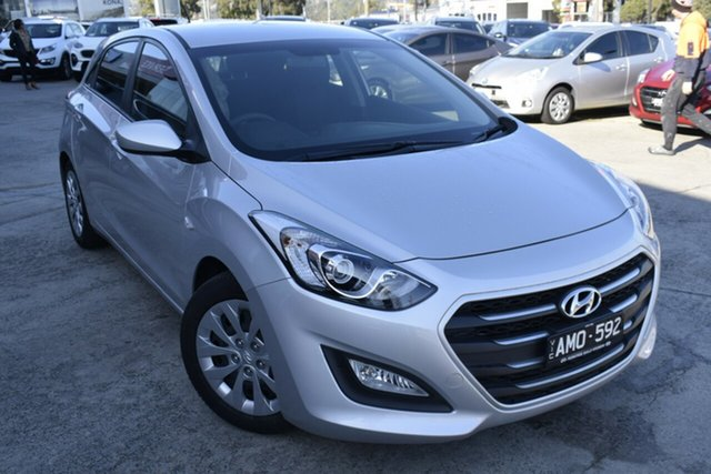 Used Hyundai i30 GD4 Series II MY17 Active, 2017 Hyundai i30 GD4 Series II MY17 Active Silver 6 Speed Sports Automatic Hatchback