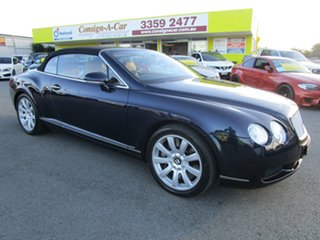 2007 Bentley Continental 3W GTC Blue 6 Speed Sports Automatic Convertible.