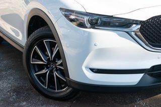 2019 Mazda CX-5 KF4WLA GT White 6 Speed Automatic Wagon.
