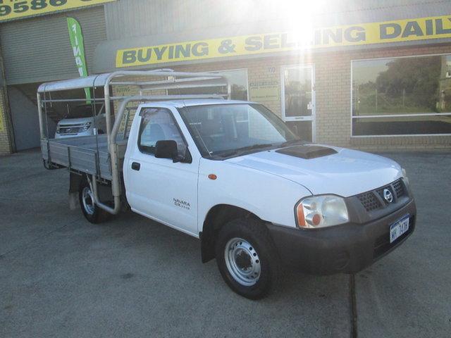 Used Nissan Navara D22 DX Mandurah, 2011 Nissan Navara D22 DX White 5 Speed Manual Trayback