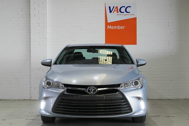 Used Toyota Camry ASV50R Altise, 2016 Toyota Camry ASV50R Altise Blue 6 Speed Sports Automatic Sedan