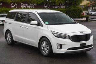 2016 Kia Carnival YP MY16 SI White 6 Speed Sports Automatic Wagon.