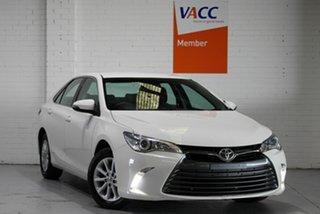 2017 Toyota Camry ASV50R Altise White 6 Speed Sports Automatic Sedan.