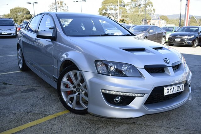 Used Holden Special Vehicles ClubSport E Series 2 R8 20th Anniversary, 2010 Holden Special Vehicles ClubSport E Series 2 R8 20th Anniversary Silver 6 Speed