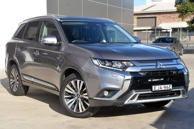 Used Mitsubishi Outlander ZL MY18.5 Exceed AWD, 2018 Mitsubishi Outlander ZL MY18.5 Exceed AWD Grey 6 Speed Constant Variable Wagon